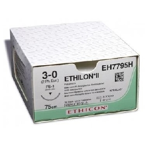 J&J Medical - Suture Ethilon con Ago Triangolare