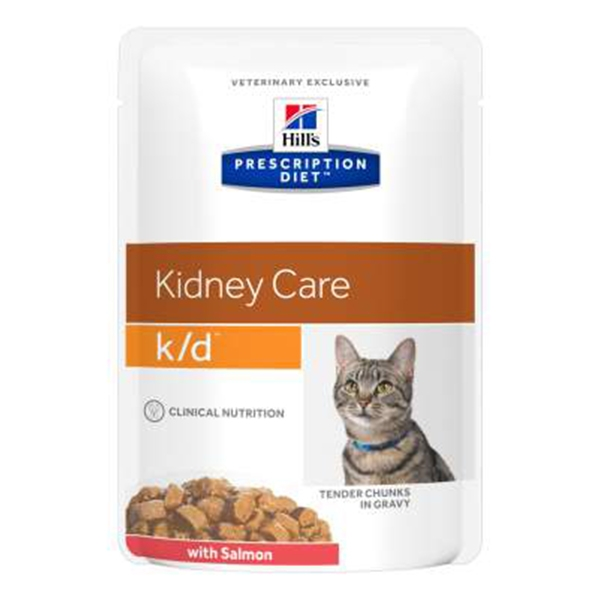 Hill's Pet Nutrition - Prescription Diet k/d Kidney Care con Salmone