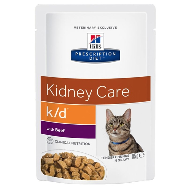 Hill's Pet Nutrition - Prescription Diet k/d Kidney Care con Manzo