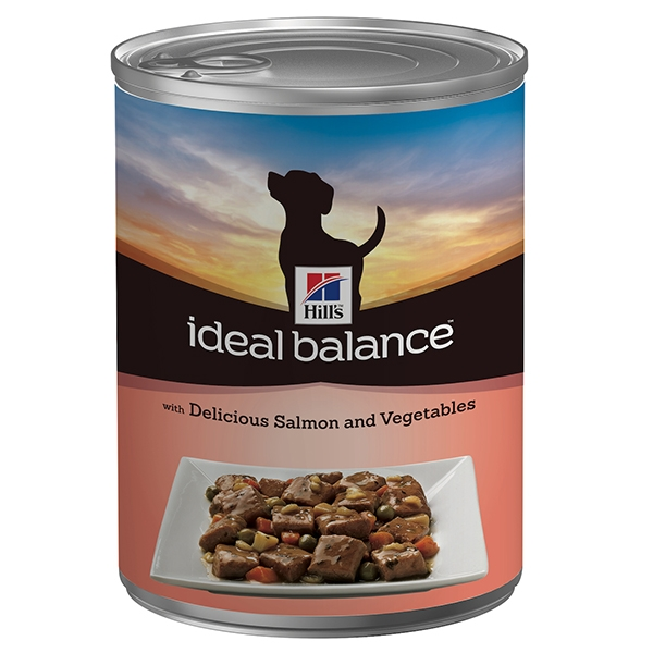 Hill's Pet Nutrition - Ideal Balance Canine Adult Delizioso Salmone e Verdure