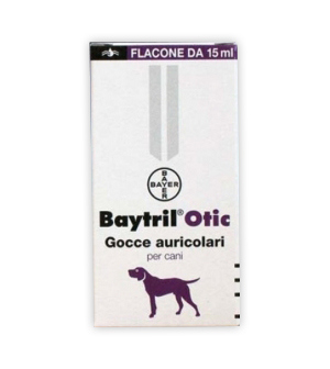 Bayer Animal Health - Baytril Otic Uso Topico Emulsione 1 Flacone 15 Ml
