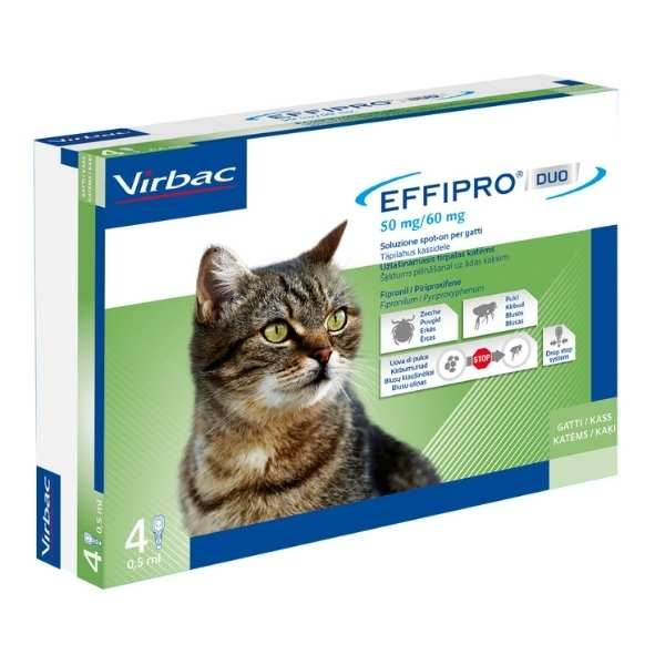 Virbac - Effipro Duo Gatto