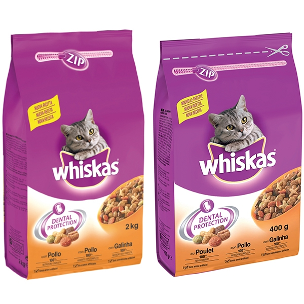 Whiskas - 1+ Croccantini con Pollo