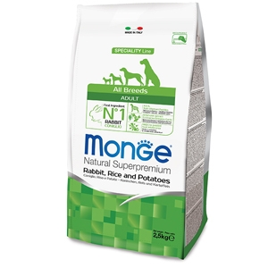 Monge - All Breeds Adult Coniglio  Riso e Patate