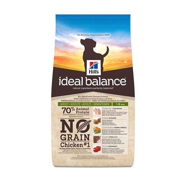 Hill's Pet Nutrition - Ideal Balance Canine Adult No Grain Pollo e Patate