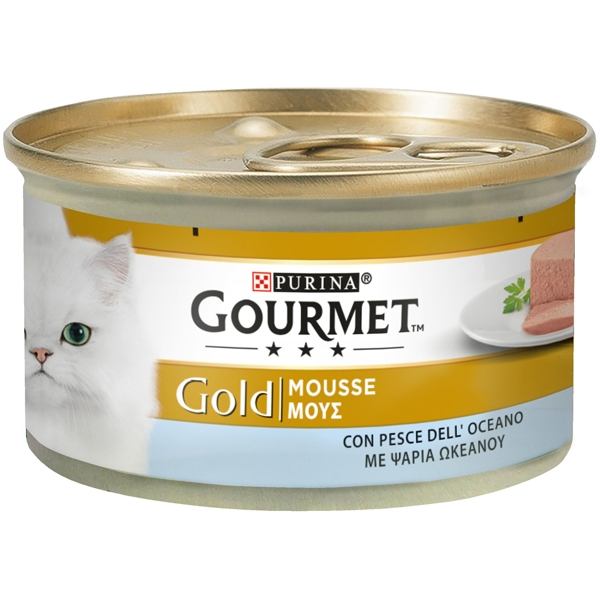 Nestle' Purina - Gourmet Gold Mousse con Pesce dell'Oceano