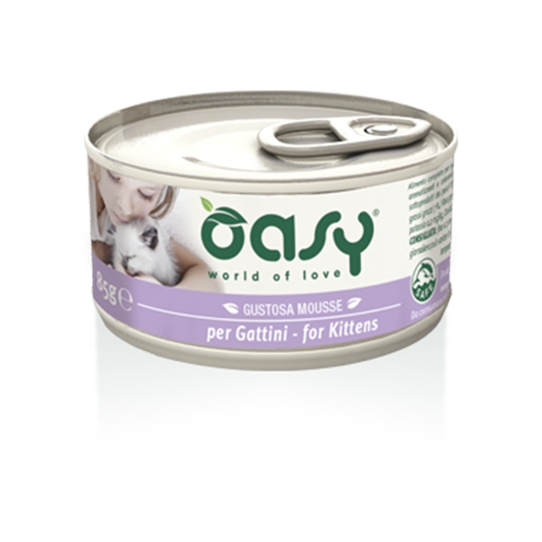 Oasy - Gustosa Mousse per Gattini