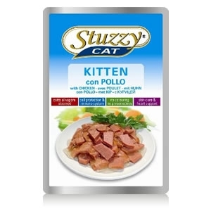 Stuzzy Cat - Kitten con Pollo